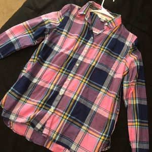 Old navy flannel , worn once perfect condition
